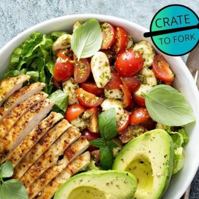 Grilled Chicken & Avovado Salad