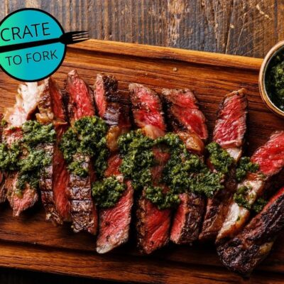 Ribeye with Chimichurri